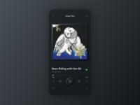 Skeuomorph Spotify | Dark Mode 🌘