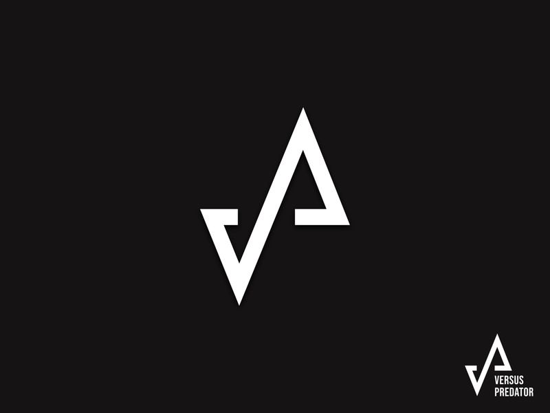 VP logo monogram letter vp branding fitness minimal logo monogram vpmonogram vpmark vplogo vp