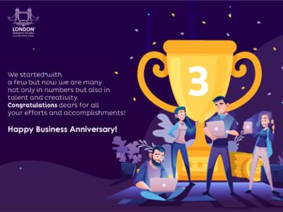 Business Anniversary 🍻
