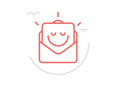 Subscribed Smiley Face illustration