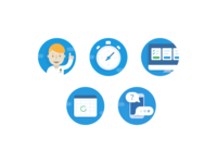 Learning Platform Icons