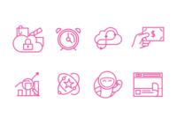 Video Platform Icons