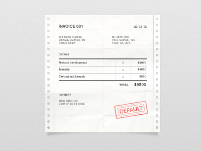 Invoice - WIP invoice icon web user interface blank slate white paper default letter payment ui zencash