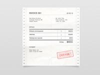 Invoice - WIP