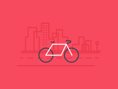City Bike bike illustration