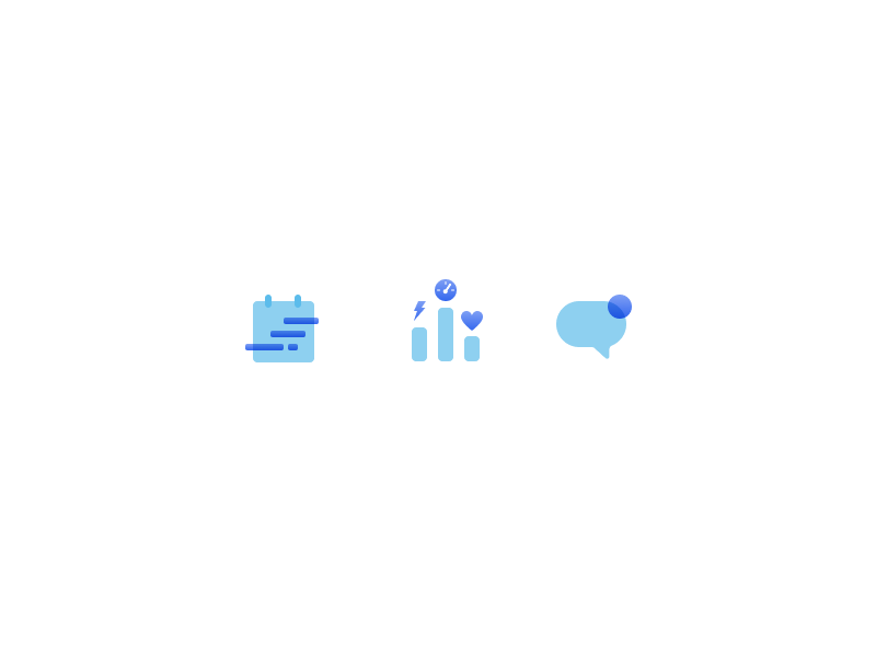Trainerplan Marketing Icons ui icons