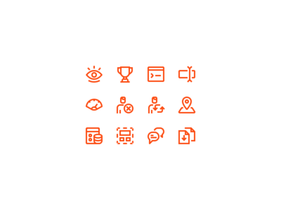 Local Marketing Icons marketing icons ui