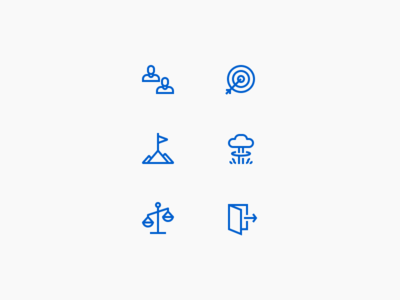 Work icons ux ui icons