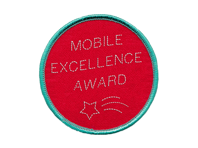 Mobile Excellence Badge