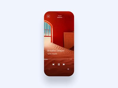 Impala music app product motion music player music prototype invision invision studio interaction daily ui design app animation mockup ui