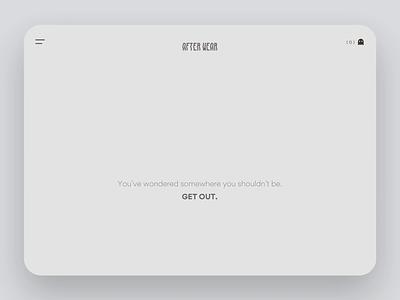 404 of horror daily ui mockup principle ecommerce animation motion webdesign halloween 404 page 404