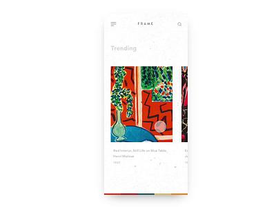 Frame parallax invision invision studio ecommerce app ecommerce typography iphone x prototype interaction flat animation mockup design ux ui