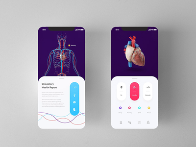 circuit invision studio fitness wellness heath invision mobile app design mobile app ios daily ui animation mockup