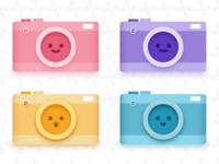 Camera Emoji Set