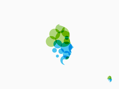 Juliana Amm Diniz head neurology logodesign logo