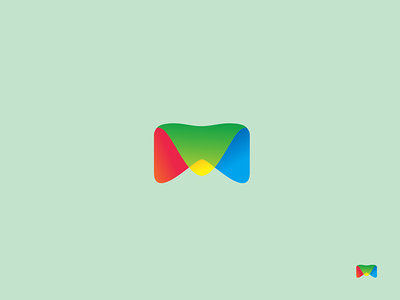 Master Clube minimal logodesign logo