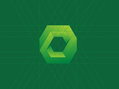 Supriminerios logotype grid logo