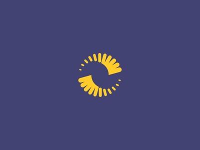 Bmh Hélices minimal logodesign logo