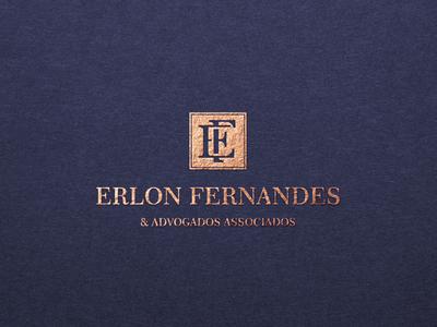Erlon Fernandes Advogados Associados logodesign logo lawyer