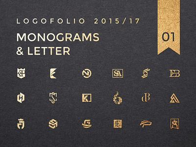 Monograms and Letter Logos behance logos monograms