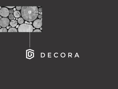 Decora Logo minimalist logodesign logo