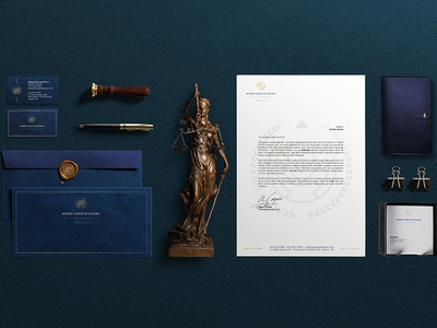 Maikon Oliveira Advogado stationery lawyer logodesign logo