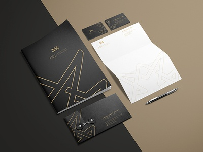 AZS Arquitetura architecture branding logodesign logo stationery