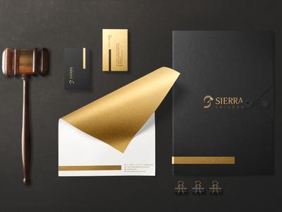 Sierra Leilões branding logodesign logo
