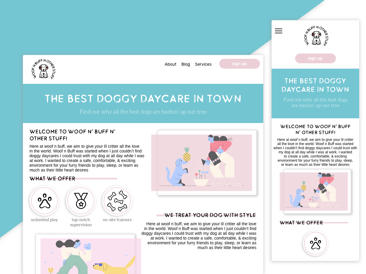 Pupper Play Care by Meghan Logan on Dribbble