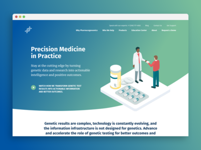New Website for Pharmacogenomics Software Company