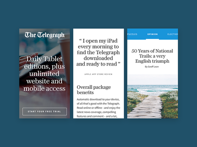 The Telegraph the telegraph typography minimal desktop design website