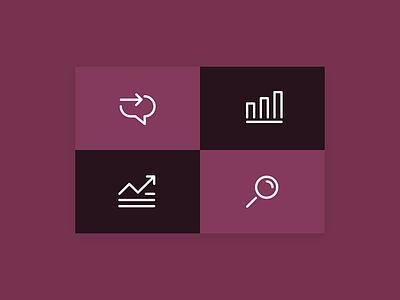 Diageo arrow graph search brighton brilliant noise diageo icons iconography icon