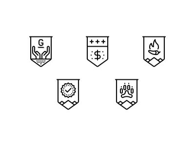 Greatest Good Badges good greatest five lines badges