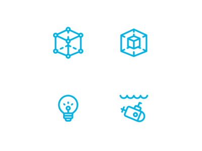 New things soon... education learning icons
