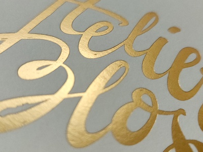Atelier Blos - Close up logo