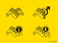 Different store department icons (equestrian shop) - 1/2