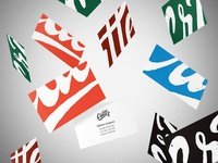Brand identity - Business cards • Critter