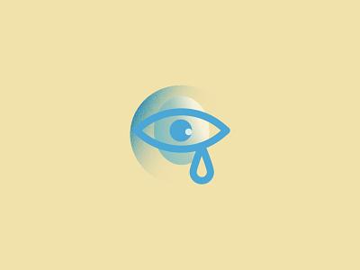 Sadly designer bold illustration eye