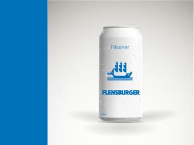 Just a Pilsener branding flensburger logo design pilsener beer