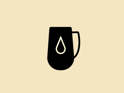 Mug classic minimalist branding illustration design mug drop coffee