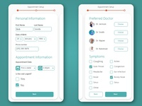 Appointment Page - Daily UI