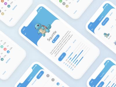 Pokedex iOS app - Squirtle