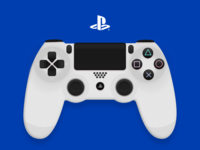 PS4 Controller - Sketch App