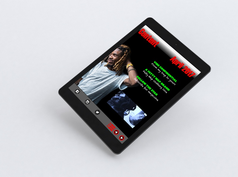 Interactive PDF digital magazine video ui layout design adobe creative cloud indesign