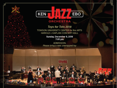 Ken Ebo Jazz Orchestra - Poster Design poster art poster marketing color layout design graphics
