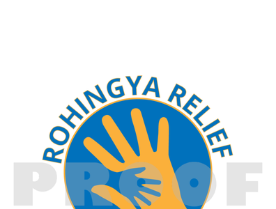 Rohingya Relief Now Logo Design illustration creative vector logo color layout design graphics