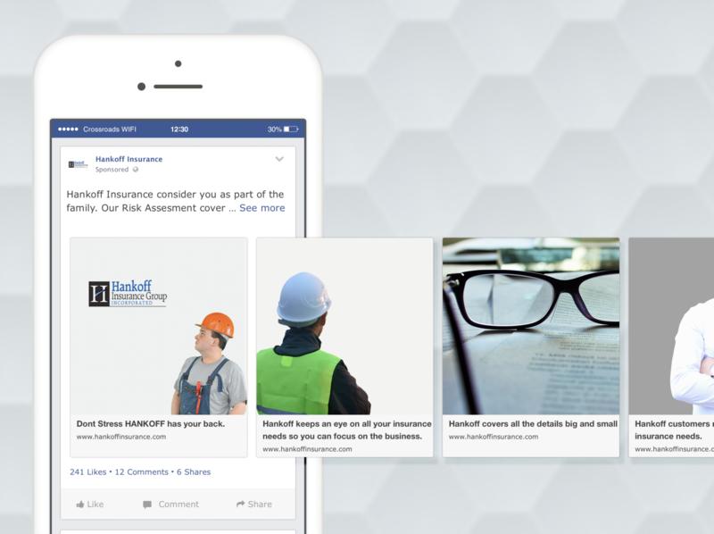 Hankoff Social Media Cross Platforms marketing branding design graphics