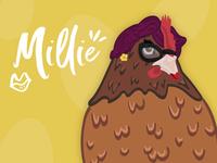 Spunky Hens - Millie