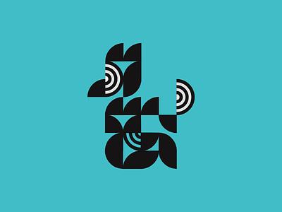 Chicken chicken lettering icon minimal logo illustration vector design