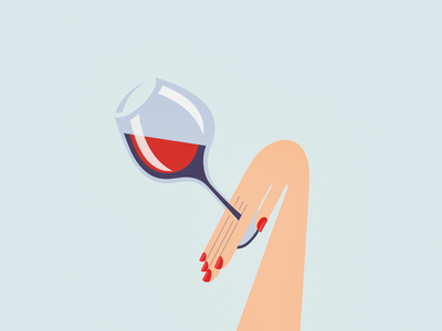 Wine & women woman wine georgia illustration vector design